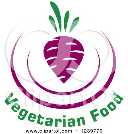 Purple Beet and Vegetarian Food Text Posters, Art Prints