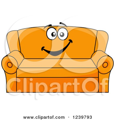 royalty-free (rf) couch clipart, illustrations, vector graphics #5
