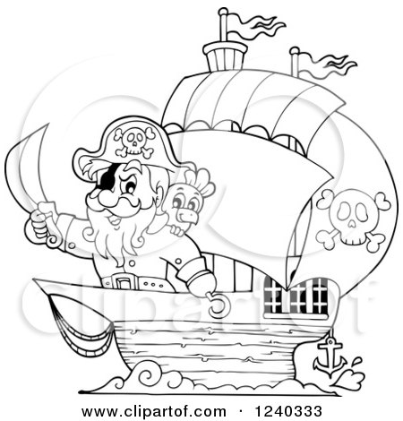 Royalty Free Stock Illustrations of Pirates by visekart Page 2
