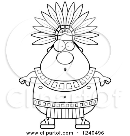 Royalty Free Rf Clipart Of Aztec Kings Illustrations Vector