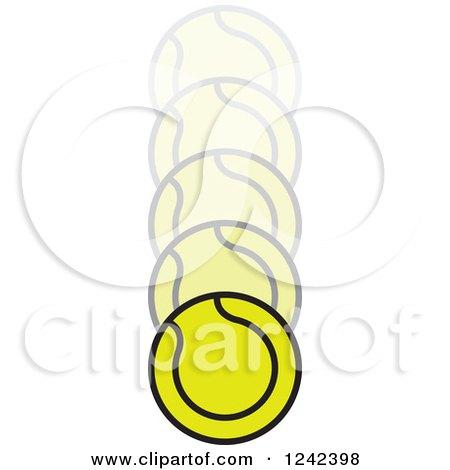 Tennis Ball Bouncing Clip Art