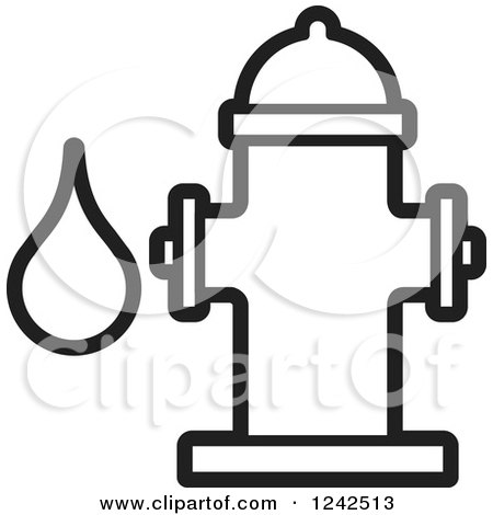 Royalty free stock illustrations of coloring pages by lal for Fire hydrant coloring page