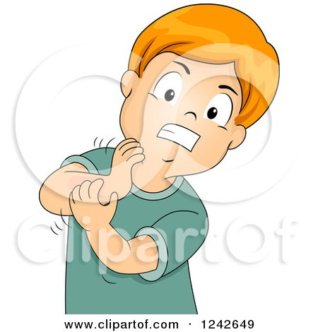 Itchy Nose Allergies Clip Art