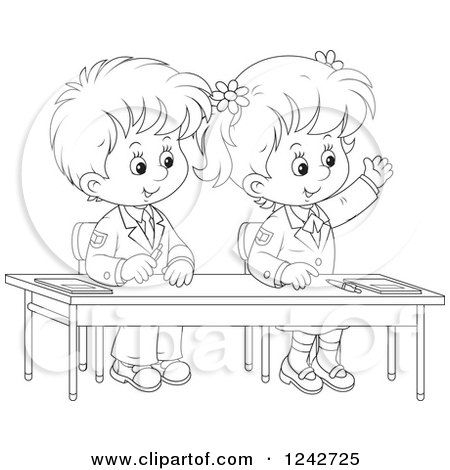 Royalty-Free (RF) Clipart of Classmates, Illustrations ...