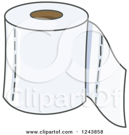 Royalty-Free (RF) Toilet Paper Clipart, Illustrations, Vector ...