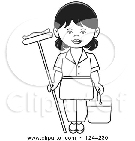 1046609 Royalty Free Cleaning Clipart Illustration additionally Classroom Student Duty Roster 19030563 likewise Floor buffer clipart additionally 13 New Years Resolutions For A Better Home In 2015 also A  munity Guide to Environmental Health Toxics in the Home. on mopping floor