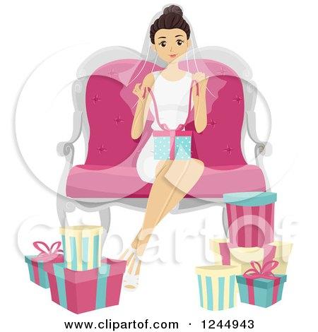 Royalty Free Rf Bridal Shower Clipart Illustrations