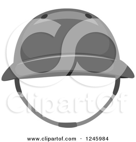 Clipart of a Sports Polo Hat - Royalty Free Vector Illustration by BNP Design Studio