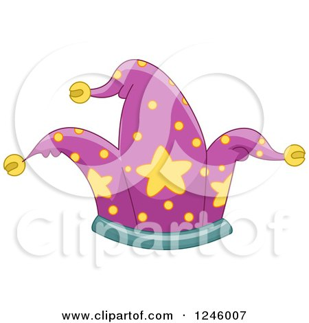 Clipart of a Fool Hat - Royalty Free Vector Illustration by BNP Design Studio