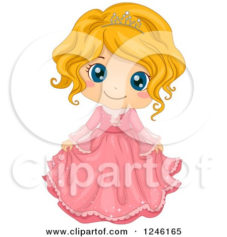 Clipart pink germ doodle royalty free vector illustration by prawny