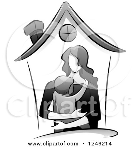 Mother And Daughter Clipart Pictures