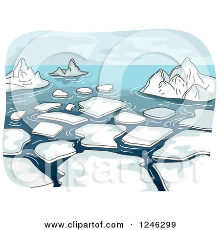 Melting Icicles Clipart