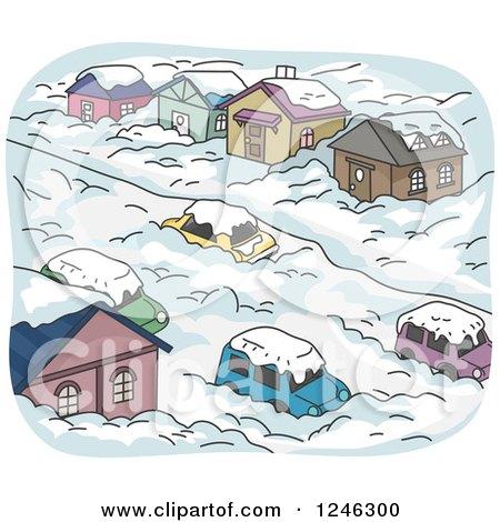 royalty free rf snowstorm clipart illustrations vector graphics 1 rh clipartof com Blizzard Clip Art free snowstorm clipart