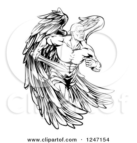 Learn How To Draw Cartoon Cute Kitty as well Pple047 Bw 155298 as well Zodiac Symbol Cancer Crab Tattoo besides Tribal Sword Tattoo Drawing Photo 3 in addition Surreal Horse Tattoo Design On Ribs. on sleeping baby angel tattoos