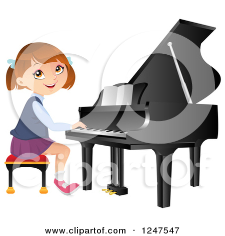 Girl Playing Clipart Clipart of a Little Girl