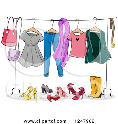 Royalty-Free (RF) Dress Up Clipart, Illustrations, Vector ...
