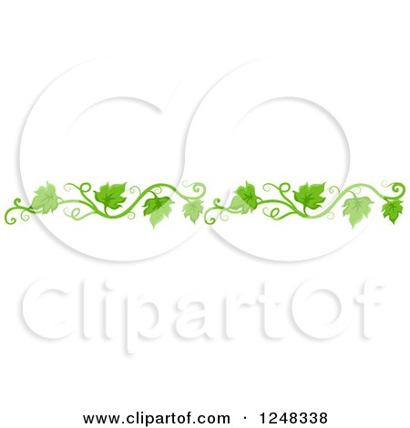 Royalty Free Rf Floral Border Clipart Illustrations