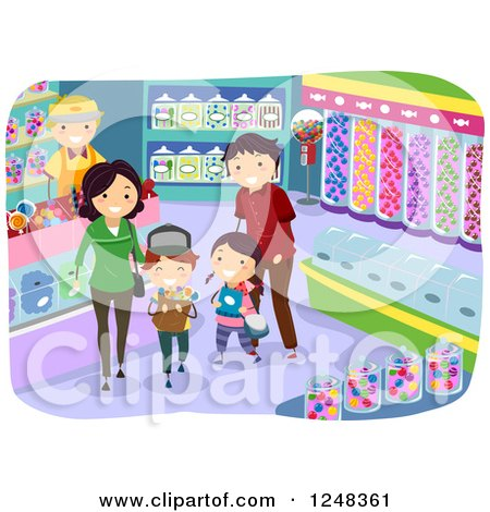 Royalty Free Rf Clip Art Illustration Of Diverse Kids In