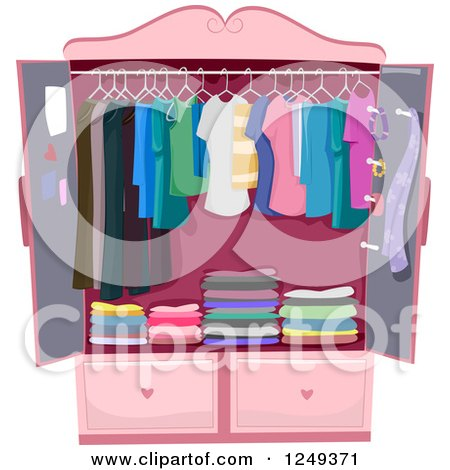 Royalty Free Rf Clothes Rack Clipart Illustrations