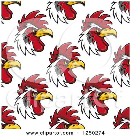Clipart of a Seamless Background Pattern of - Royalty Free Vector Illustration by Vector Tradition SM