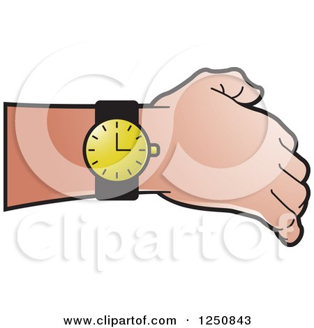 royalty free rf clipart of watches illustrations vector graphics 2 rh clipartof com digital watch clipart digital wrist watch clipart