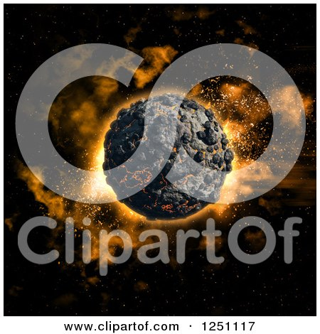 clipart of a volcanic eruption with birds and palm trees Earth Day Clip Art Drawing Earth Clip Art