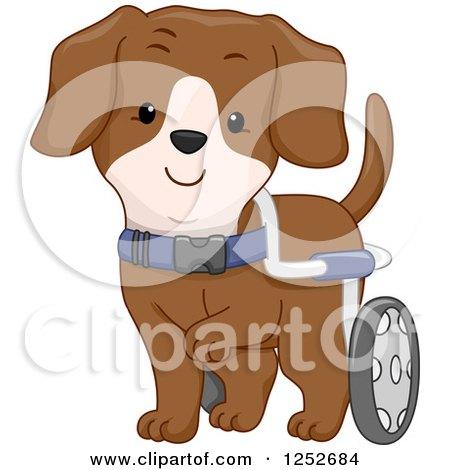 Clipart Cute Stick Girl Walking Her Brindle French Bulldog