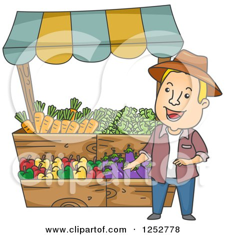 Royalty-Free (RF) Market Stall Clipart, Illustrations, Vector Graphics ...