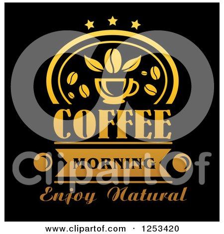 Royalty free rf morning coffee clipart illustrations 1