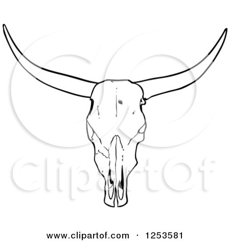 Pin Valessiobrito Cow Skull Clip Art Vector Online Royalty on ...