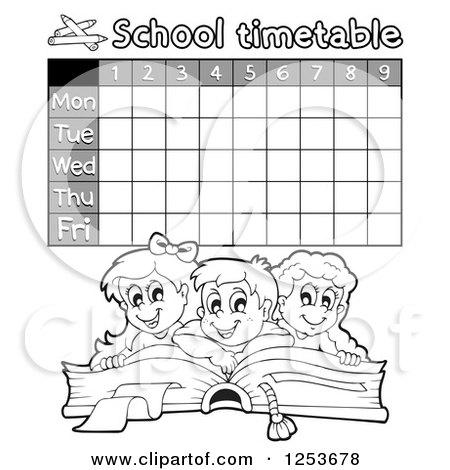 School Timetables to Print School Timetable Prints