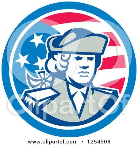Royalty-Free (RF) Patriot Clipart, Illustrations, Vector Graphics #1