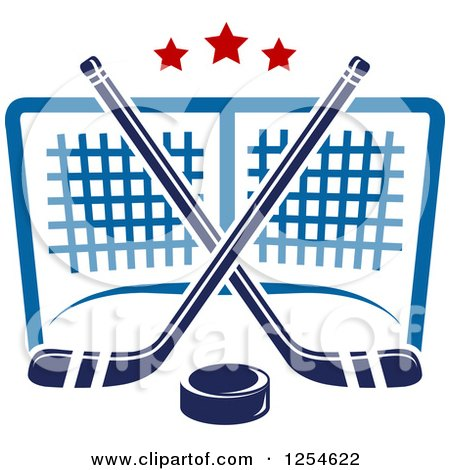 Clipart Aggressive Hockey Puck - Royalty Free Vector Illustration ...
