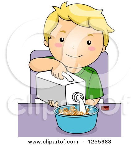 Royalty-Free (RF) Cereal Clipart, Illustrations, Vector Graphics #1