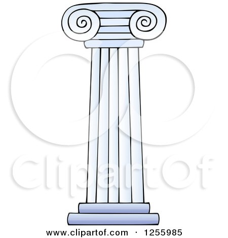 Royalty-Free (RF) Column Clipart, Illustrations, Vector Graphics #1