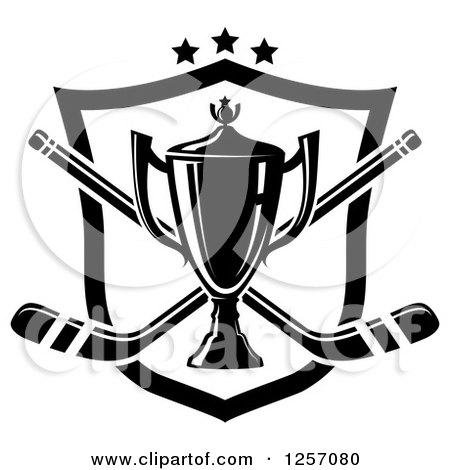 Royalty-Free (RF) Clipart Illustration of a Golden Soccer Trophy ...