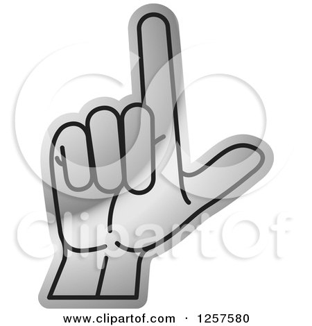 counting hand holding up 3 fingers three in sign language