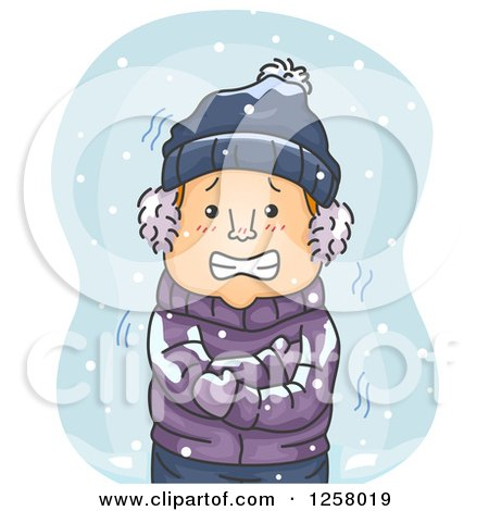 Royalty Free Rf Shivering Clipart Illustrations Vector