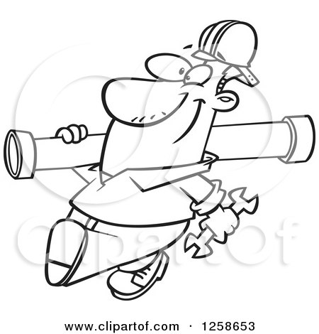Cartoon Black And White Outline Design Of A Confused Plumber 1047486 further Black And White Woodcut Styled Mayan Plumber 1058807 in addition Man With A Leaky Pipe Calling A Plumber 5863 further Plumbing Black And White Cliparts furthermore Occupations. on stock illustration cartoon plumber admiring a geyser