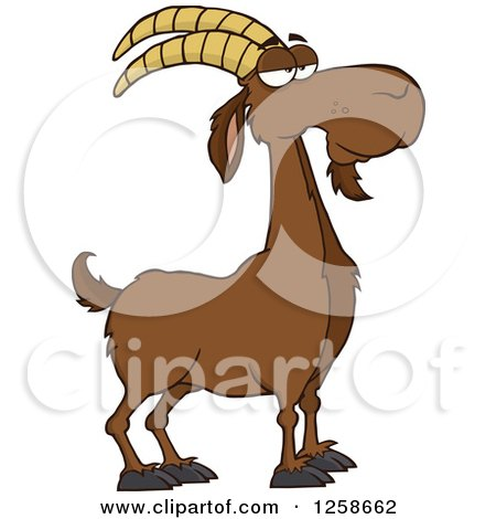 Royalty-Free (RF) Goat Clipart, Illustrations, Vector Graphics #1