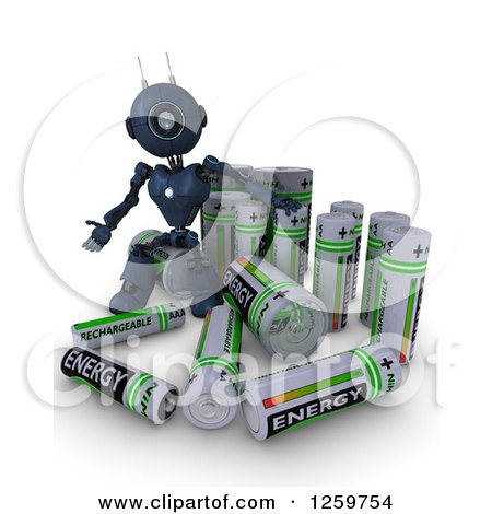 Royalty-Free (RF) Battery Clipart, Illustrations, Vector Graphics #1