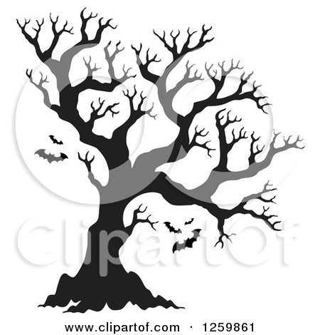 Royalty Free Rf Clipart Of Bare Trees Illustrations Vector