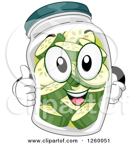 Happy Pickle Clipart Royalty-Free (RF) Clip...