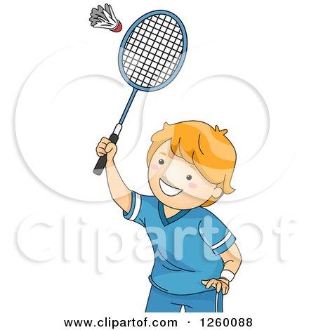 Royalty-Free (RF) Badminton Clipart, Illustrations, Vector Graphics #1