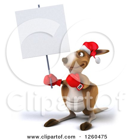 Royalty-Free (RF) Christmas Kangaroo Clipart ...