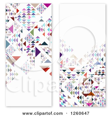 Clipart of Colorful Geometric Panels - Royalty Free Vector Illustration by OnFocusMedia