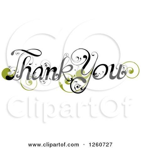 royaltyfree rf thank you clipart illustrations vector