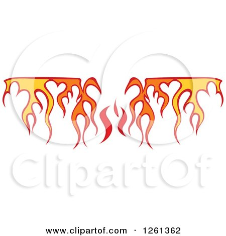 Fire Clipart Border Transparent - More information