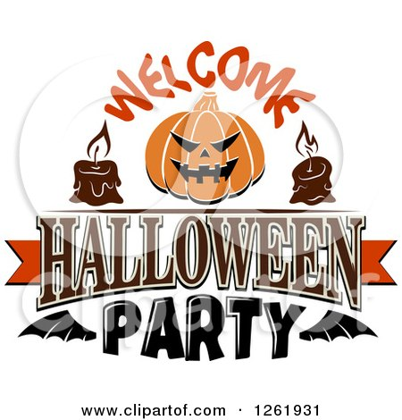 Royalty-Free (RF) Halloween Party Clipart, Illustrations, Vector ...