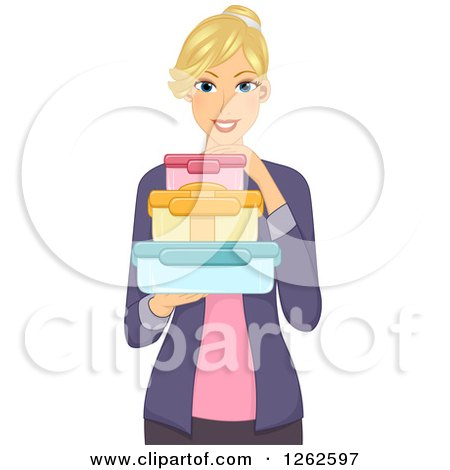 Royalty Free Rf Tupperware Clipart Illustrations